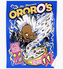 OrorO's Cereal Poster