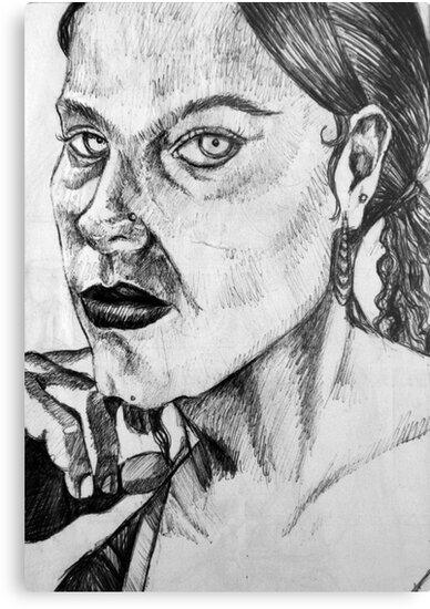 Empty Stare by Ainadel Ojeda