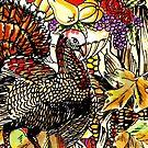Fall Themed Turkey Design by LjMaxx