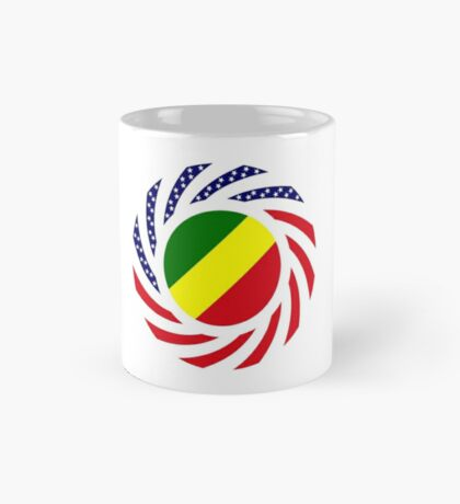 Congolese American (Republic of) Multinational Patriot Flag Series Mug