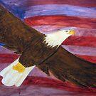 Spirit of America Bald Eagle by janetmarston