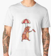 Cute Little Circus Bear Men's Premium T-Shirt