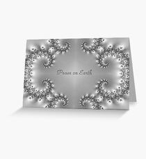 Crystal clear Peace Greeting Card