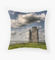 Paxton's Tower, Carmarthenshire, South Wales Throw Pillow