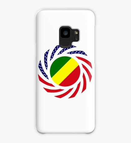 Congolese American (Republic of) Multinational Patriot Flag Series Case/Skin for Samsung Galaxy