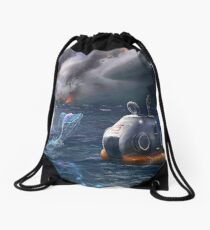 Subnautica: Aurora Crashed Drawstring Bag