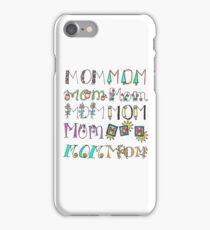 Seasons of Moms iPhone Case/Skin