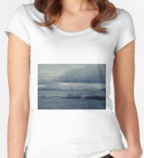Hardikambur, Olafsvik, Snaefellsnes, Iceland Women's Fitted Scoop T-Shirt