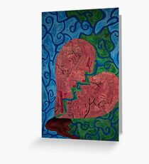 Broken Heart  Greeting Card