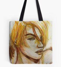 Gold Hair  Tote Bag