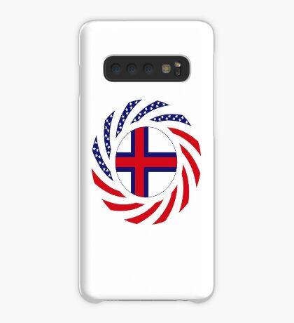 Faroe Islands American Multinational Patriot Flag Series Case/Skin for Samsung Galaxy