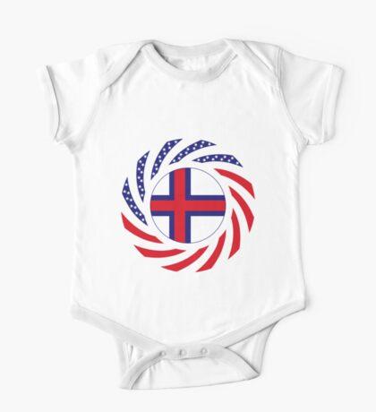 Faroe Islands American Multinational Patriot Flag Series Kids Clothes