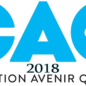 Coalition Avenir Québec (Coalition for Quebec's Future) Logo for Light Colors by Quatrosales