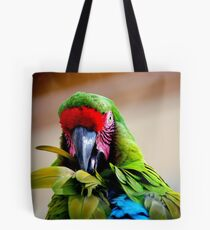 Had my feathers ruffled today.... Tote Bag