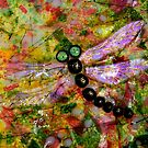 Stained Glass Dragonfly... by LjMaxx