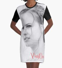 Classic portrait by Blunder for Vinylone Graphic T-Shirt Dress