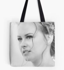 Classic portrait by Blunder for Vinylone Tote Bag