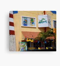 Margaritaville Restaurant  Canvas Print
