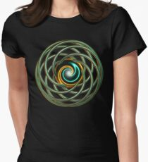 'Swirl Knot' Womens Fitted T-Shirt