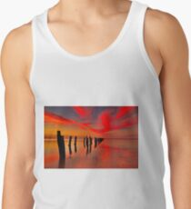 """Twilight At The Springs"" Men's Tank Top"