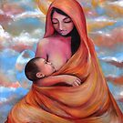 Breastfeeding Madonna & Child by Jody  Parmann