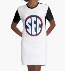 Ole Miss Rebels SEC Logo Graphic T-Shirt Dress