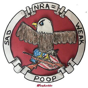 NRA = Weak Sad Poop by wonkette