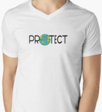 Protect Earth V-Neck T-Shirt