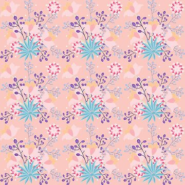 Shabby Chic Floral Your Pink  by famenxt