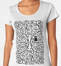 The Owl Women's Premium T-Shirt