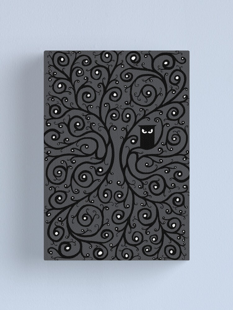 Alternate view of The Owl Canvas Print