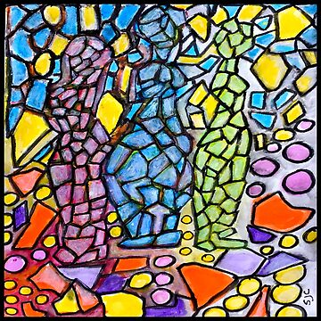 Stained Glass Statues by GraceArt