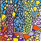 Stained Glass Statues by Sarah Curtiss