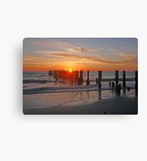 Gulf of Mexico Sunset Canvas Print