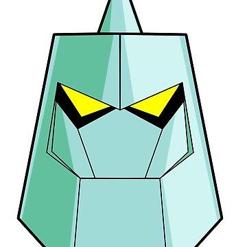 10 ben Diamondhead alien by nicitadesigns
