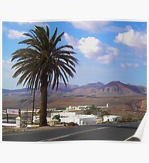 Lanzorote (Spanish Canary Islands) Poster