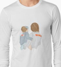 Mother holding baby Long Sleeve T-Shirt