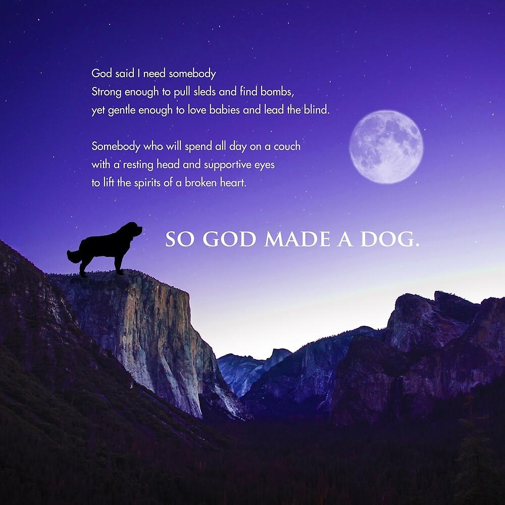 So God Made a Dog by Christine Mullis