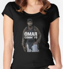 Omar Comin' Yo Women's Fitted Scoop T-Shirt