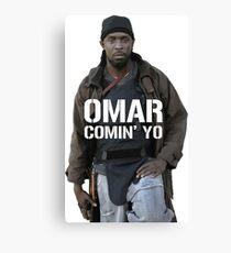 Omar Comin' Yo Canvas Print