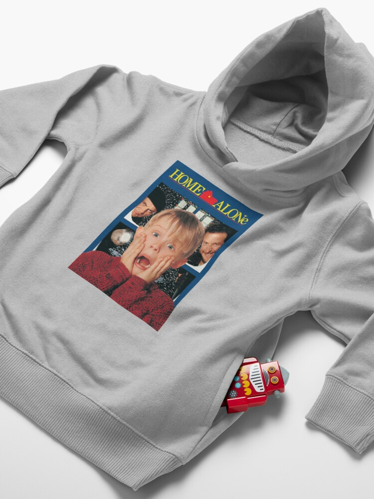 Alternate view of Home Alone Toddler Pullover Hoodie
