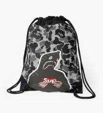 HYPEBEAST x SUPREME x BAPE Drawstring Bag