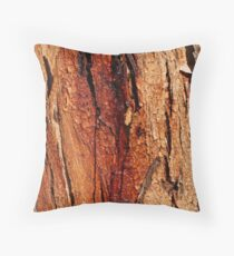 'Coloured bark' Throw Pillow