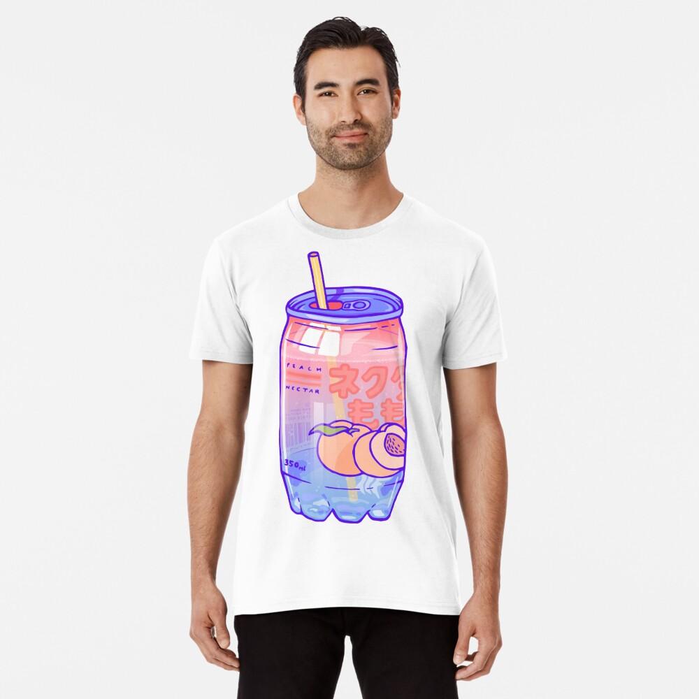 Peach Bubbles Premium T-Shirt
