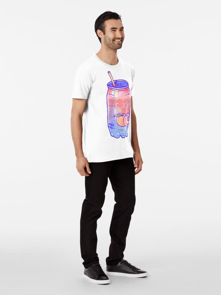 Alternate view of Peach Bubbles Premium T-Shirt