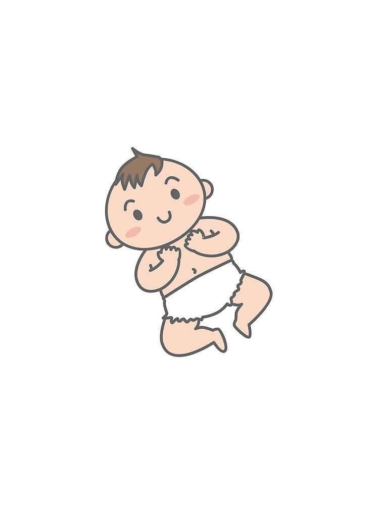 Glückliches Baby von Reethes
