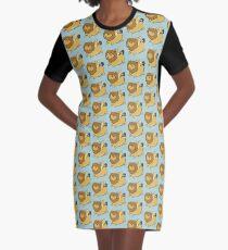 Cutie Manticore Graphic T-Shirt Dress