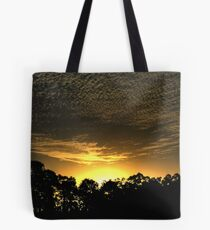 Sunset without the Fuss. Tote Bag