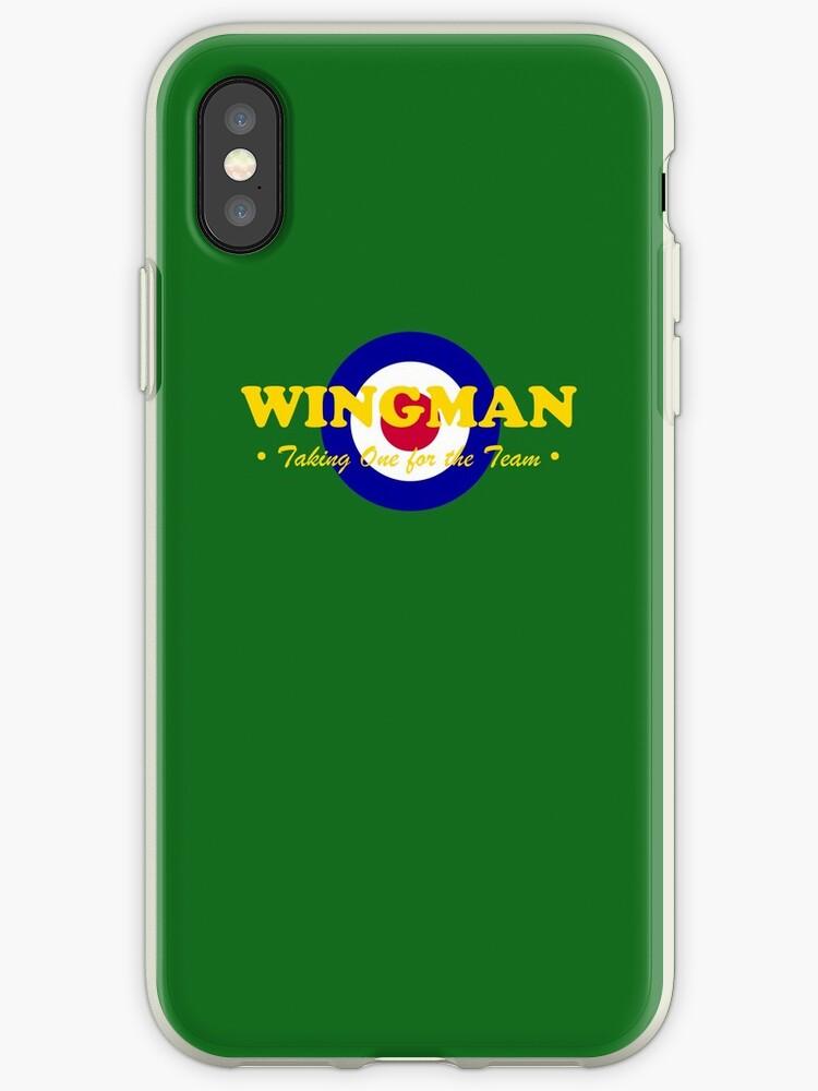 cheaper e781b e82f6 'Wingman (RAF)' iPhone Case by Paul James Farr