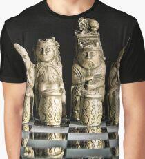Ancient Chess Set Graphic T-Shirt